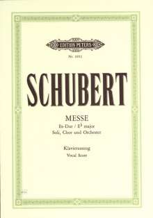 Franz Schubert (1797-1828): Messe Es-Dur D 950, Noten