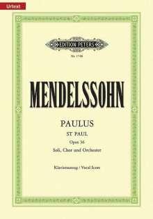 Felix Mendelssohn Bartholdy (1809-1847): Paulus op. 36, Noten