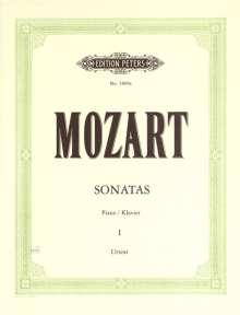 Wolfgang Amadeus Mozart (1756-1791): Sonaten für Klavier, Band 1, Noten