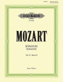 Wolfgang Amadeus Mozart (1756-1791): Sonaten für Klavier, Band 2, Noten