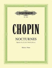 Frederic Chopin (1810-1849): Nocturnes, Noten