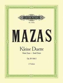 Jacques-Féréol Mazas: Kleine Duette op. 38, Noten