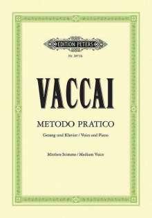 Nicola Vaccai (1790-1848): Metodo Pratico di Canto Italiano, Noten