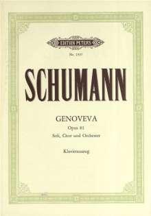 Robert Schumann: Genoveva op. 81, Noten