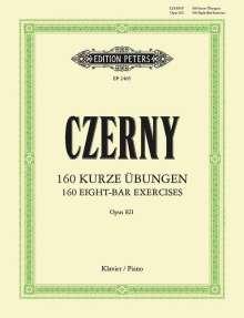 Carl Czerny (1791-1857): 160 kurze Übungen op. 821, Noten