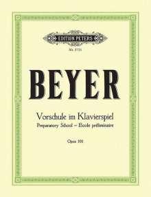 Ferdinand Beyer: Vorschule im Klavierspiel op. 101, Noten