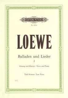 Carl Loewe: Balladen und Lieder, Band 1, Noten