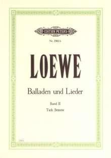 Carl Loewe (1796-1869): Balladen und Lieder, Band 2, Noten