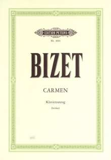 Georges Bizet (1838-1875): Carmen, Klavierauszug, Noten