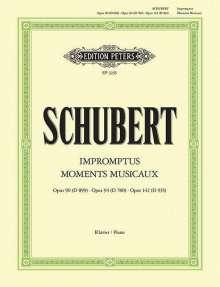 Franz Schubert: Impromptus, Moments Musicaux, Noten