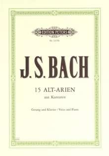 Johann Sebastian Bach: 15 Arien aus Kantaten, Noten
