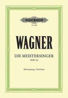 Richard Wagner (1813-1883): Die Meistersinger von Nürnberg (Oper in 3 Akten) WWV 96, Noten
