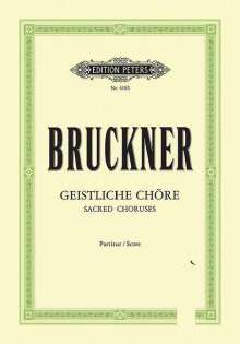 Anton Bruckner: Geistliche Chöre [Auswahl], Noten