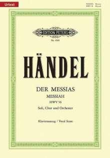 Händel:Der Messias (Klavierauszug), Noten