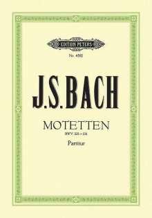 Johann Sebastian Bach: Motetten BWV 225-231, Noten