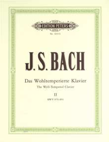 Johann Sebastian Bach: Das Wohltemperierte Klavier II, BWV 870-893. Bd.2, Noten