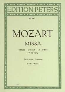 Mozart, Wolfgang Ama:Missa c-Moll KV 427 (417a, Noten
