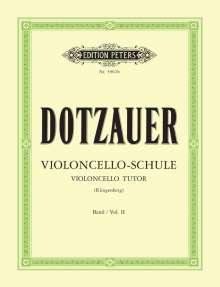 Justus Johann Friedrich Dotzauer: Violoncello-Schule - Band 2: Zweite bis fünfte Lage, Noten