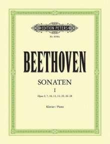 Ludwig van Beethoven (1770-1827): Sonaten für Klavier - Band 1, Noten