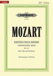 "Wolfgang Amadeus Mozart: Missa C-Dur KV 317 ""Krönungs-Messe"" / URTEXT, Noten"