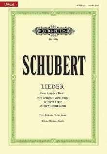 Franz Schubert (1797-1828): Lieder, Band 1 / Neue Ausgabe / URTEXT, Noten