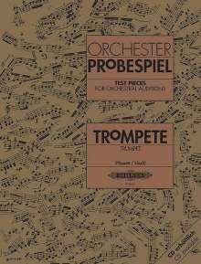 Verschiedene: Orchesterprobespiel: Trompete, Noten