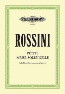 Gioacchino Rossini (1792-1868): Petite Messe solennelle, Noten
