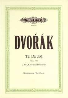 Antonin Dvorak: Te Deum op. 103 / URTEXT, Noten