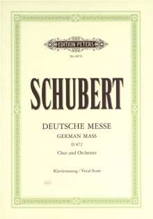 Franz Schubert: Deutsche Messe D 872, Noten