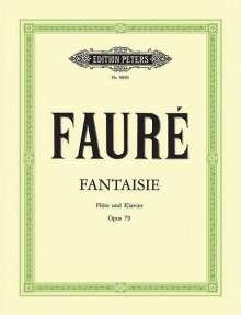 Gabriel Faure (1845-1924): Fantasie C-Dur op. 79, Noten