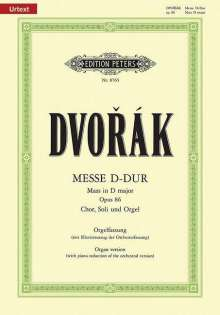 Antonin Dvorak (1841-1904): Messe D-Dur op. 86, Noten