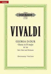Antonio Vivaldi (1678-1741): Gloria D-Dur RV 589, Noten