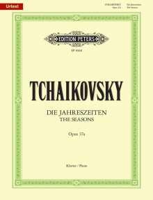 Peter Iljitsch Tschaikowsky (1840-1893): Die Jahreszeiten op. 37a (37bis), Noten