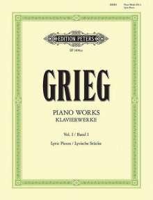 Edvard Grieg (1843-1907): Klavierwerke - Band 1: Lyrische Stücke - Hefte 1 - 10 / URTEXT, Noten