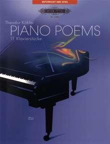 Theodor Köhler: Piano Poems, Noten