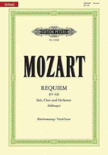 Wolfgang Amadeus Mozart (1756-1791): Requiem d-Moll KV 626 / SmWV 105 / URTEXT, Noten