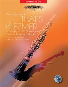 Peter Przystaniak: That's Klezmer, Noten