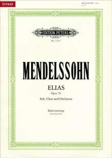 Felix Mendelssohn Bartholdy: Elias op. 70, Noten