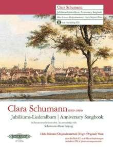 Clara Schumann: Jubiläums-Liederalbum -14 Lieder für hohe Singstimme und Klavier- (Originaltonarten), Noten