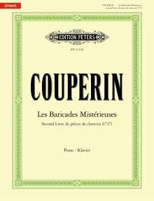 Francois Couperin: Les Baricades Mistérieuses -Second Livre de pièces de clavecin (1717)-, Noten