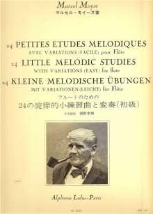 Marcel Moyse: 24 Petites Etudes Melodiques, Noten