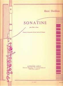 Dutilleux: Sonatine, Noten