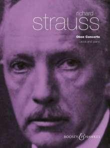Richard Strauss (1864-1949): Konzert für Oboe und kleines Orchester D-Dur, Noten
