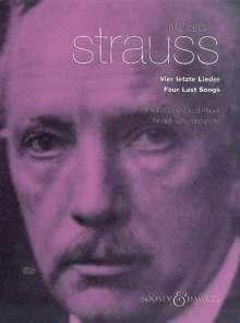 Richard Strauss: Vier letzte Lieder o. Op. AV 150, hohe Singstimme und Orchester, Klavierauszug mit Solostimme, Noten