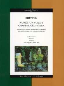 Benjamin Britten: Werke für Stimme und Kammerorchester (1943), Noten