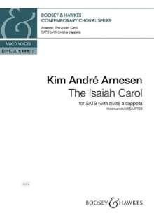 Kim André Arnesen: The Isaiah Carol, Noten