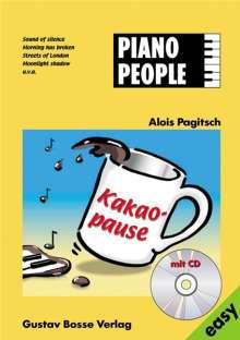 Piano People - Kakaopause, Noten