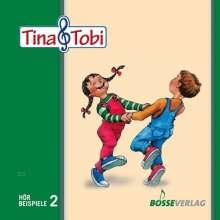 """Musikalische Früherziehung """"Tina und Tobi"""". Hörbeispiele auf CD, 2. Halbjahr, Noten"""