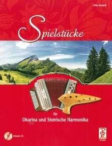 Silvia Kumeth: Spielstücke für Okarina und Steirische Harmonika, Noten