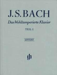 Johann Sebastian Bach: Das Wohltemperierte Klavier Teil I BWV 846-869, Noten